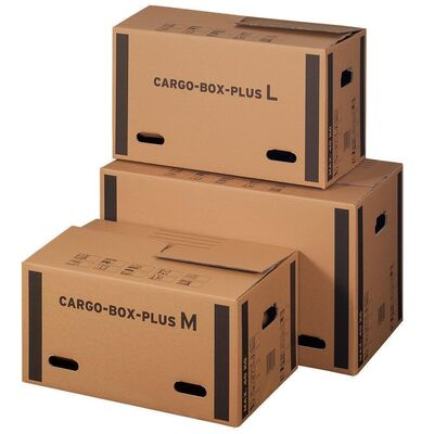 Cargobox PLUS mit sicherem Schmetterlingsboden L