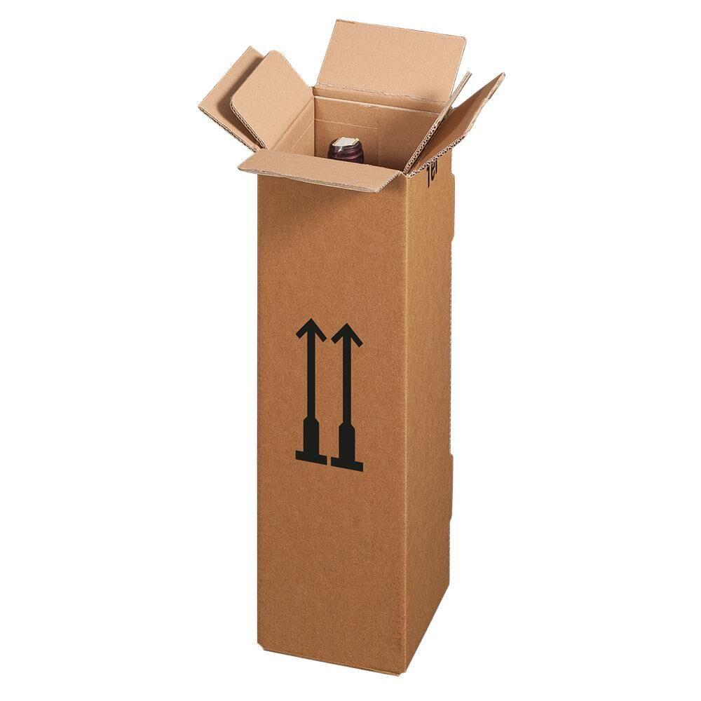 versandkarton f r flaschen 1 er kaufen bei. Black Bedroom Furniture Sets. Home Design Ideas